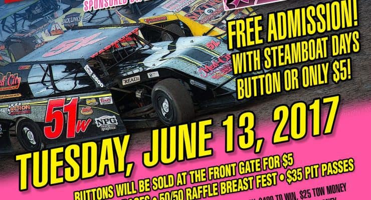 1st Annual Steamboat Days Race for a Cause