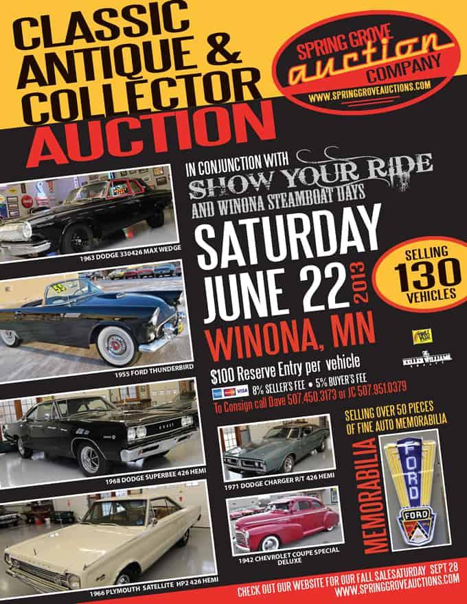 Classic Antique Collector Car Auction